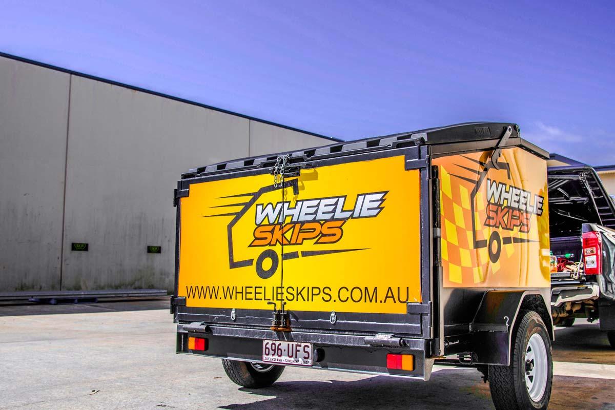 Wheelie Skips