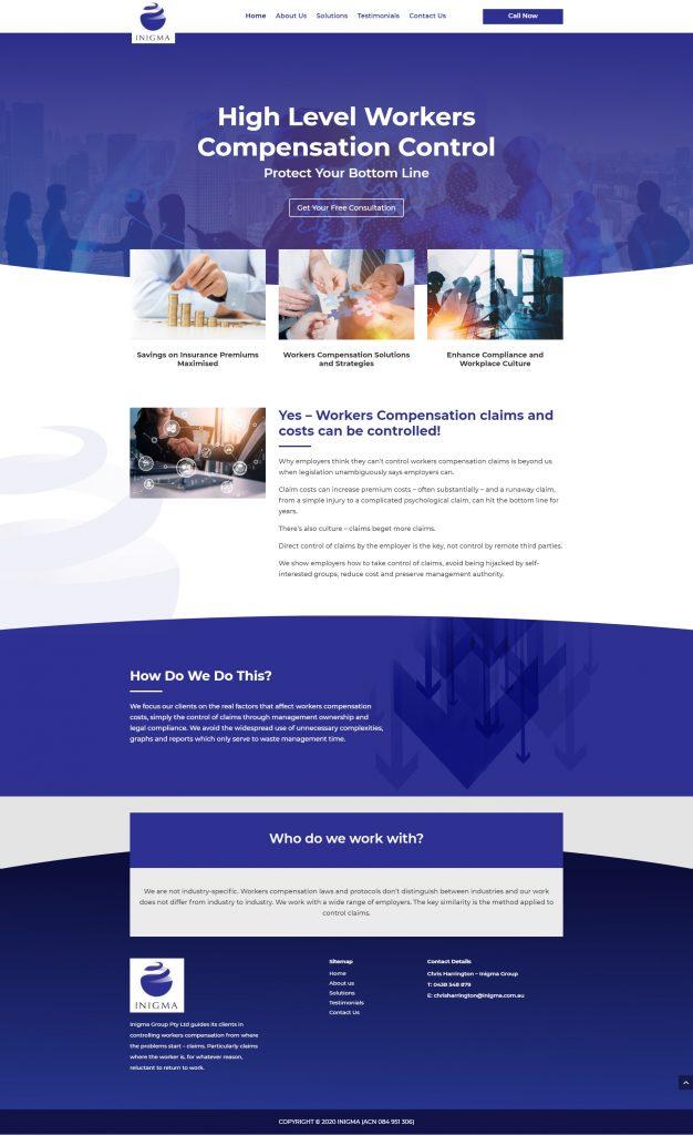 homepage sample