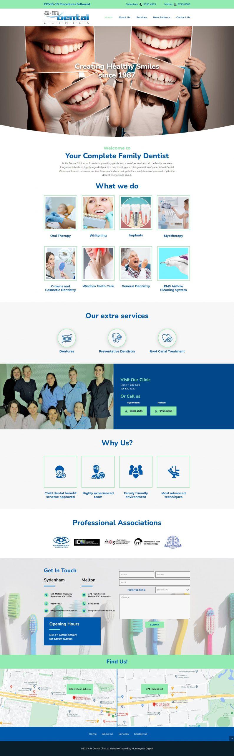 AMDental Homepage
