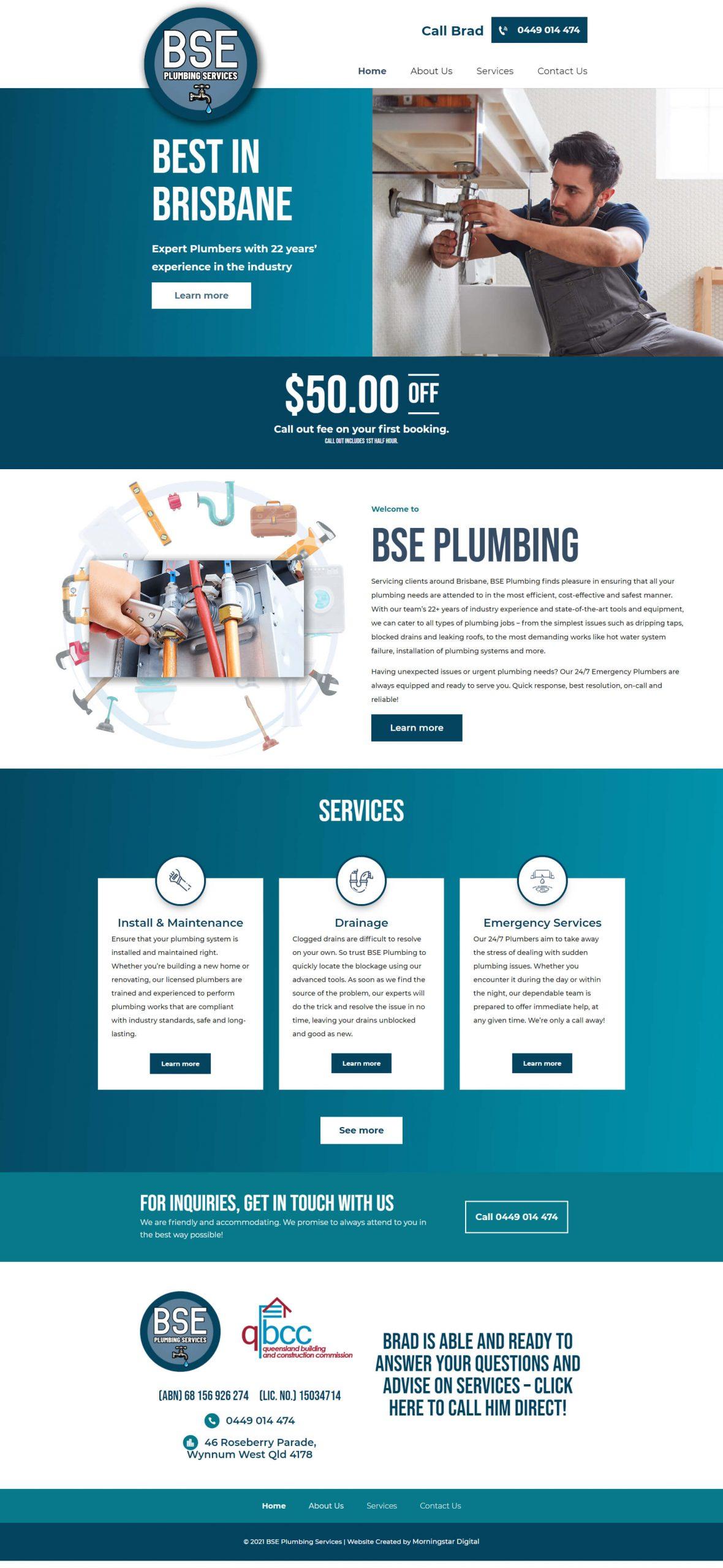 BSEPlumbing Homepage