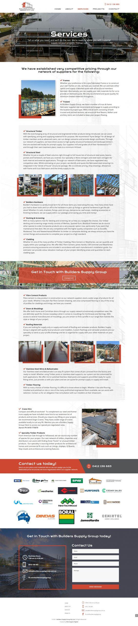 BuildersSupplyGroup Services