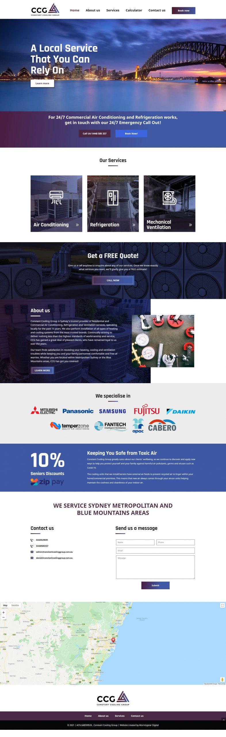 ConstantCoolingGroup Homepage