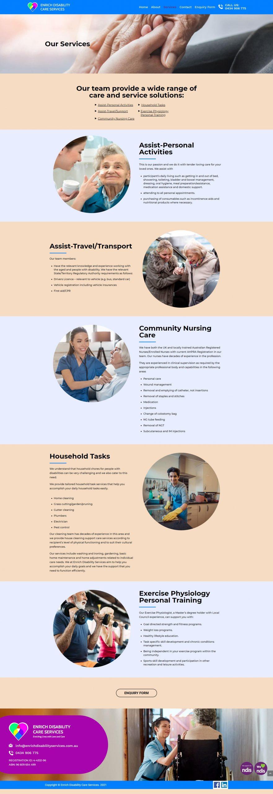 EnrichDisabilityServices Services