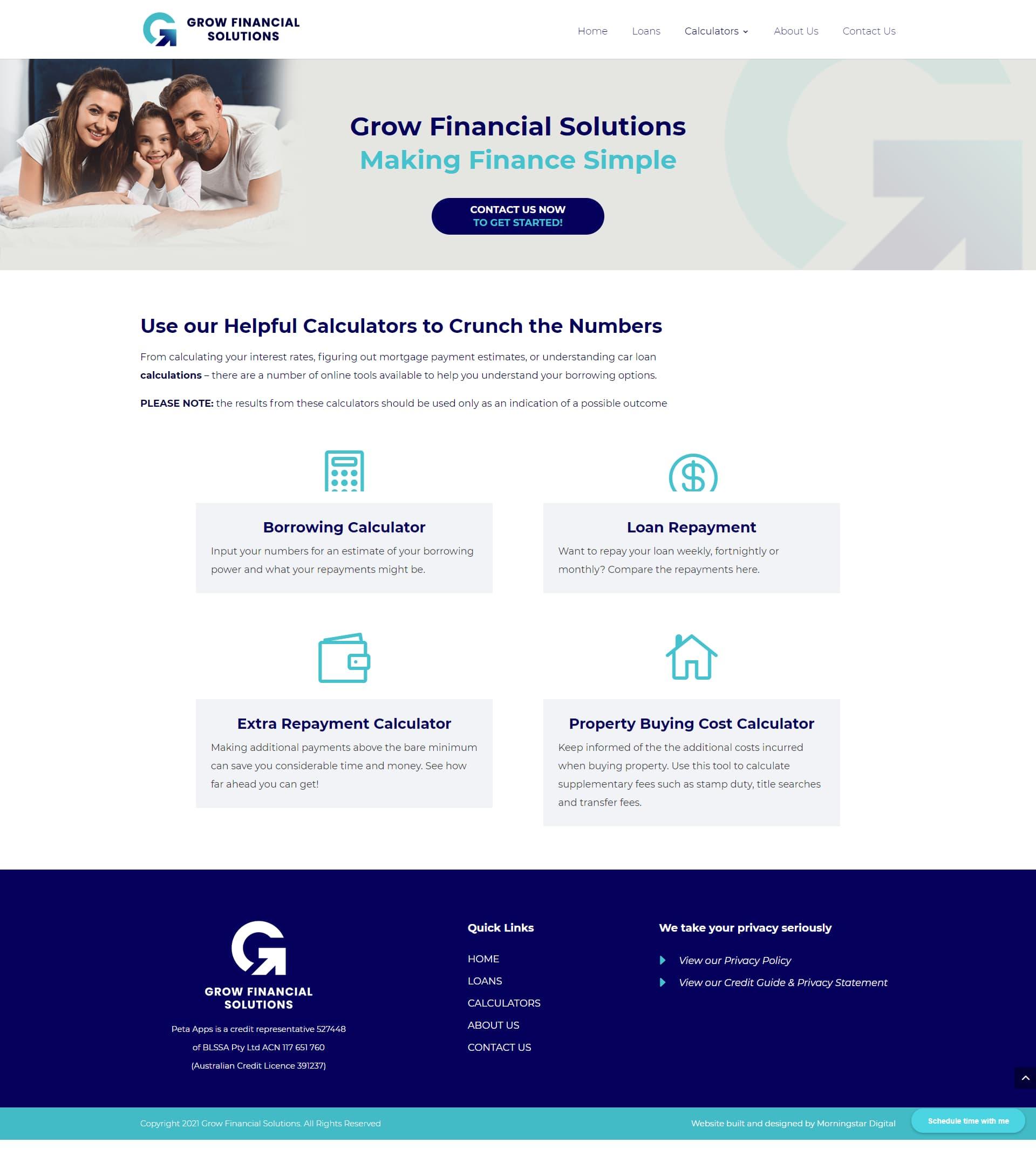 GrowFinancial Calculators