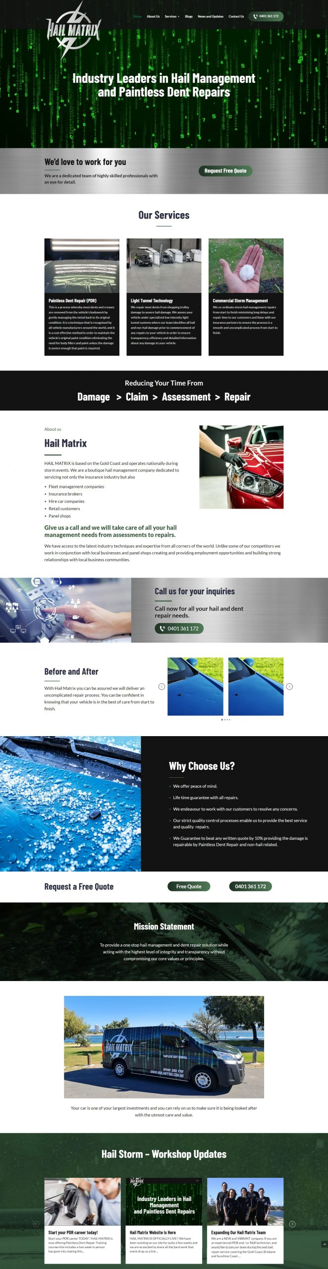 HailMatrix Homepage