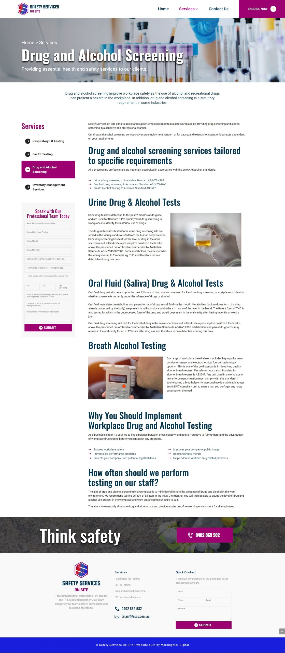 SSOS DrugAlcoholPage
