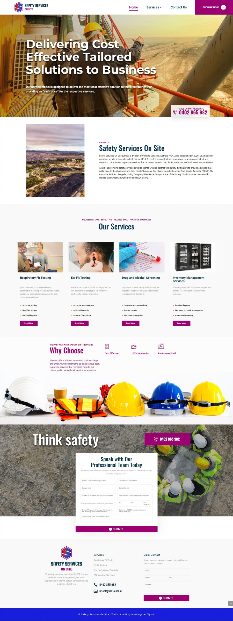 SSOS Homepage