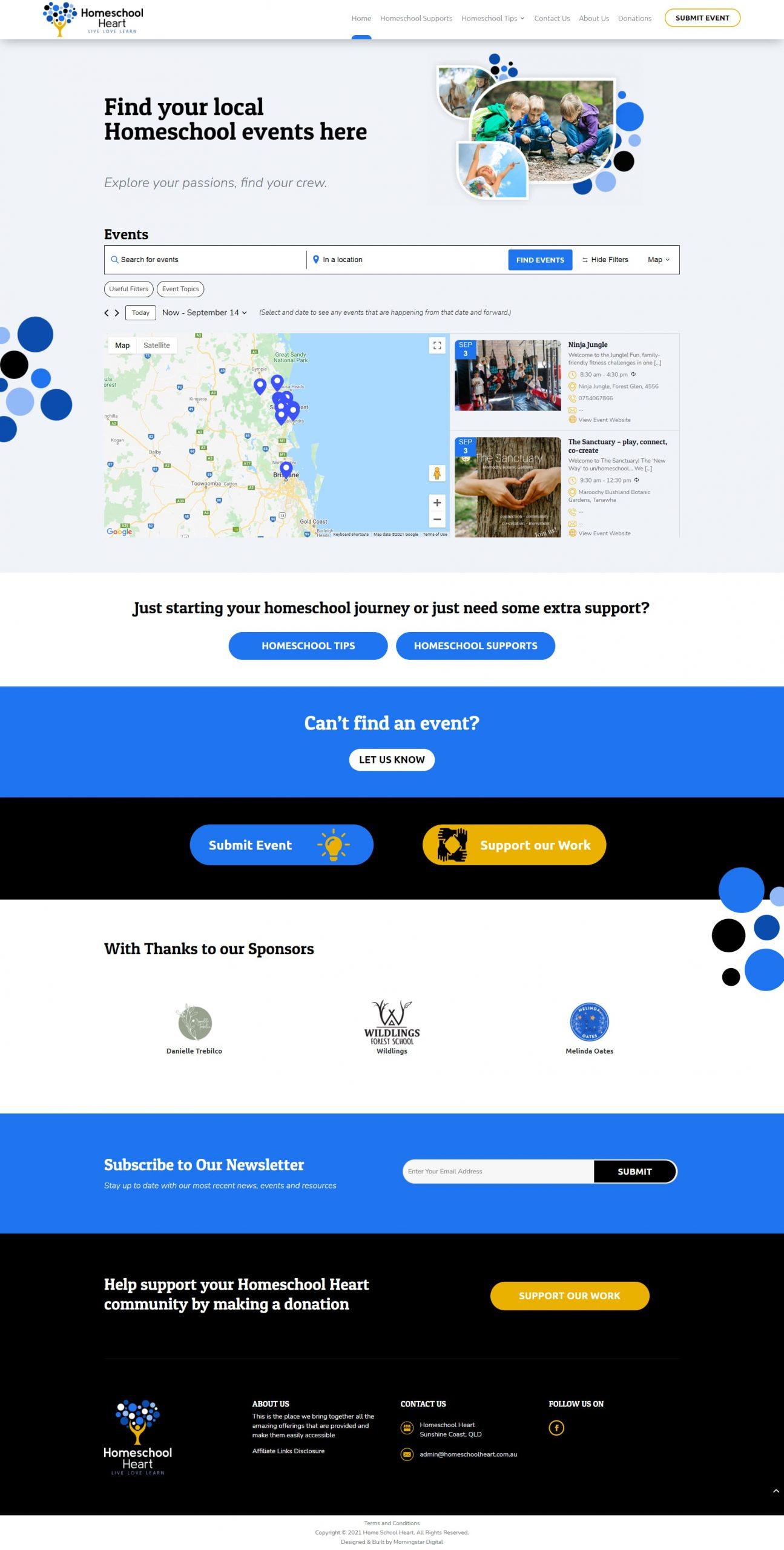 HomeschoolHeart Homepage