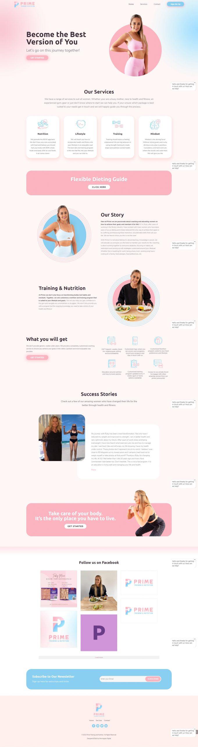 Prime Homepage