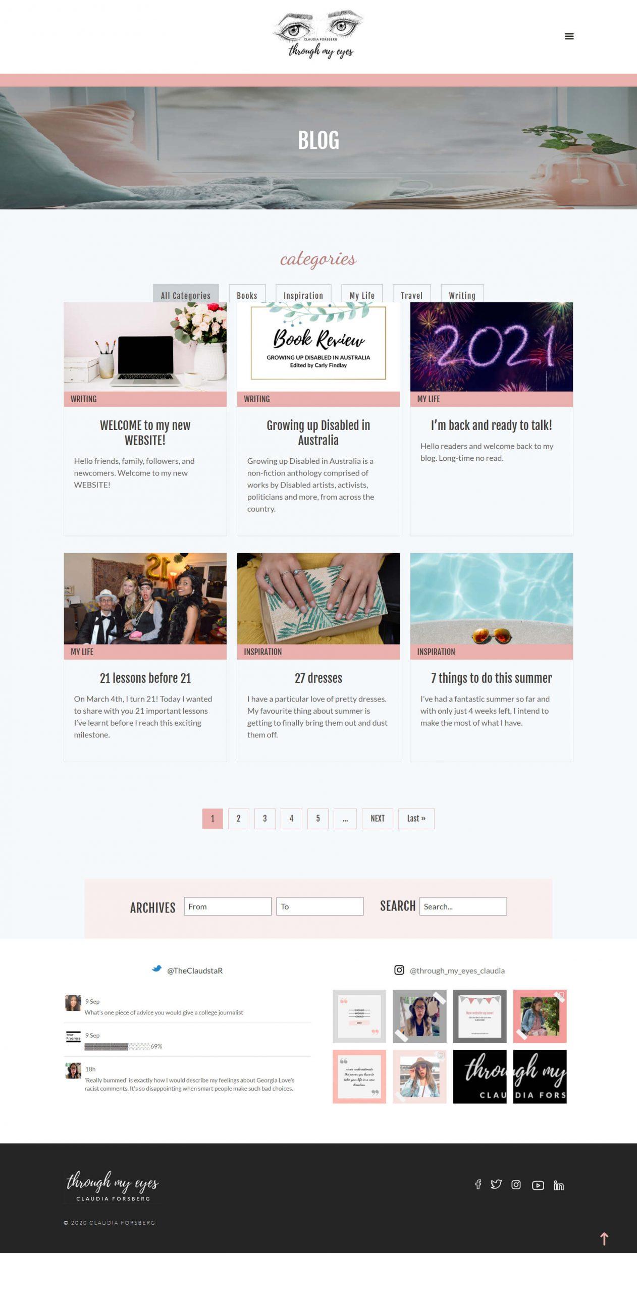 ThroughMyEyes BlogPage