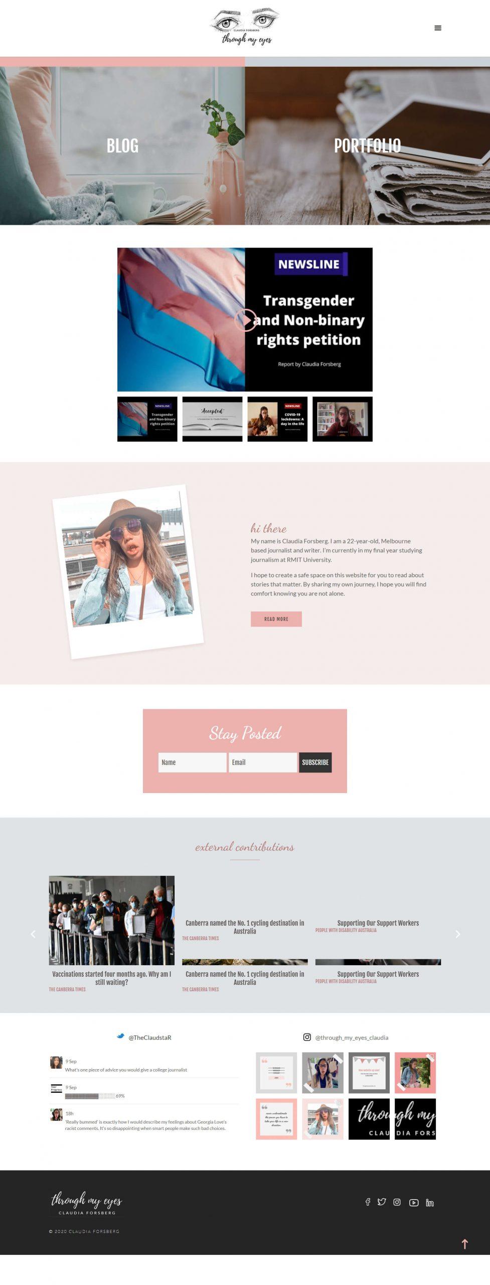 ThroughMyEyes Homepage