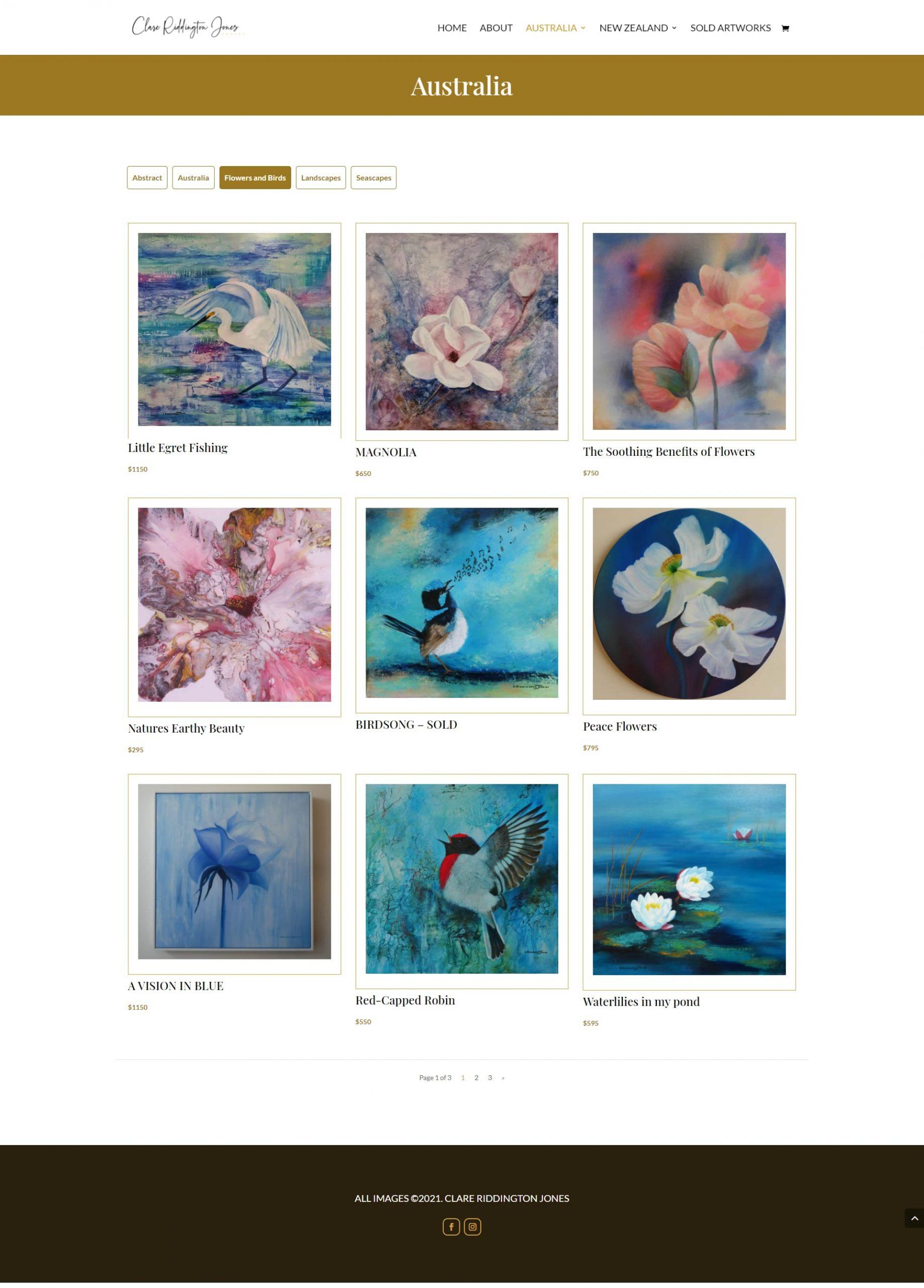 ClareJones Paintings